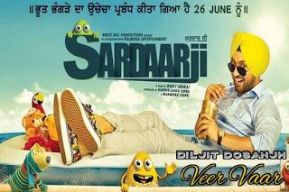 Veervaar from Sardaarji MP3 Song Download | Video | Lyrics | Diljit Dosanjh