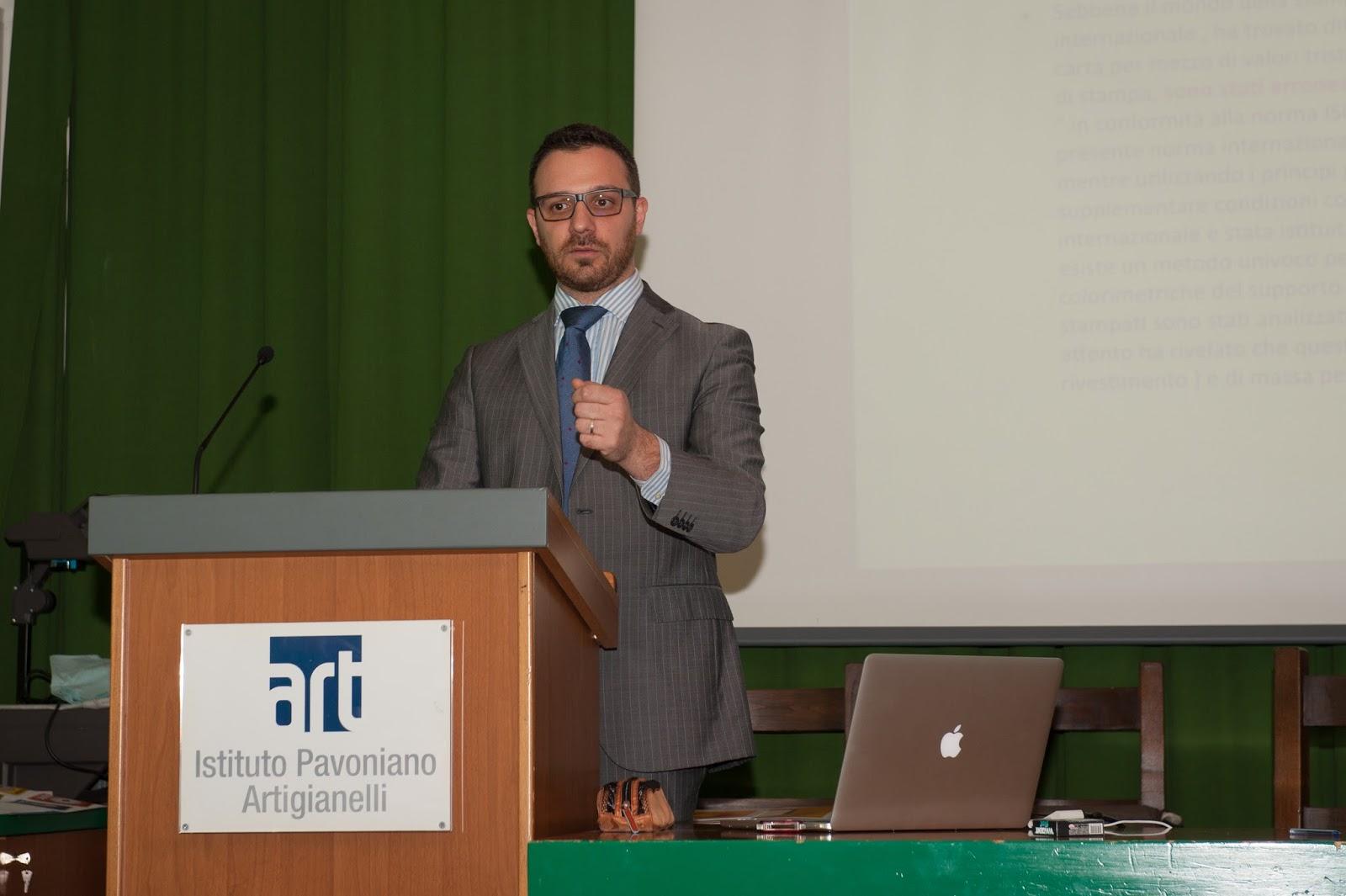 Il relatore Luca Morandi