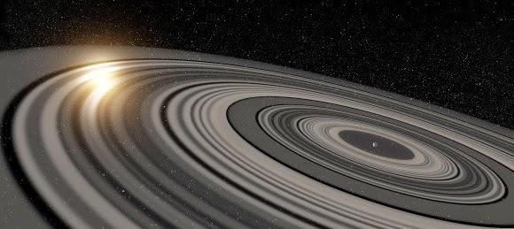 """Planet """"Saturnus-Super"""" Ini Miliki Sistem Cincin Raksasa"""