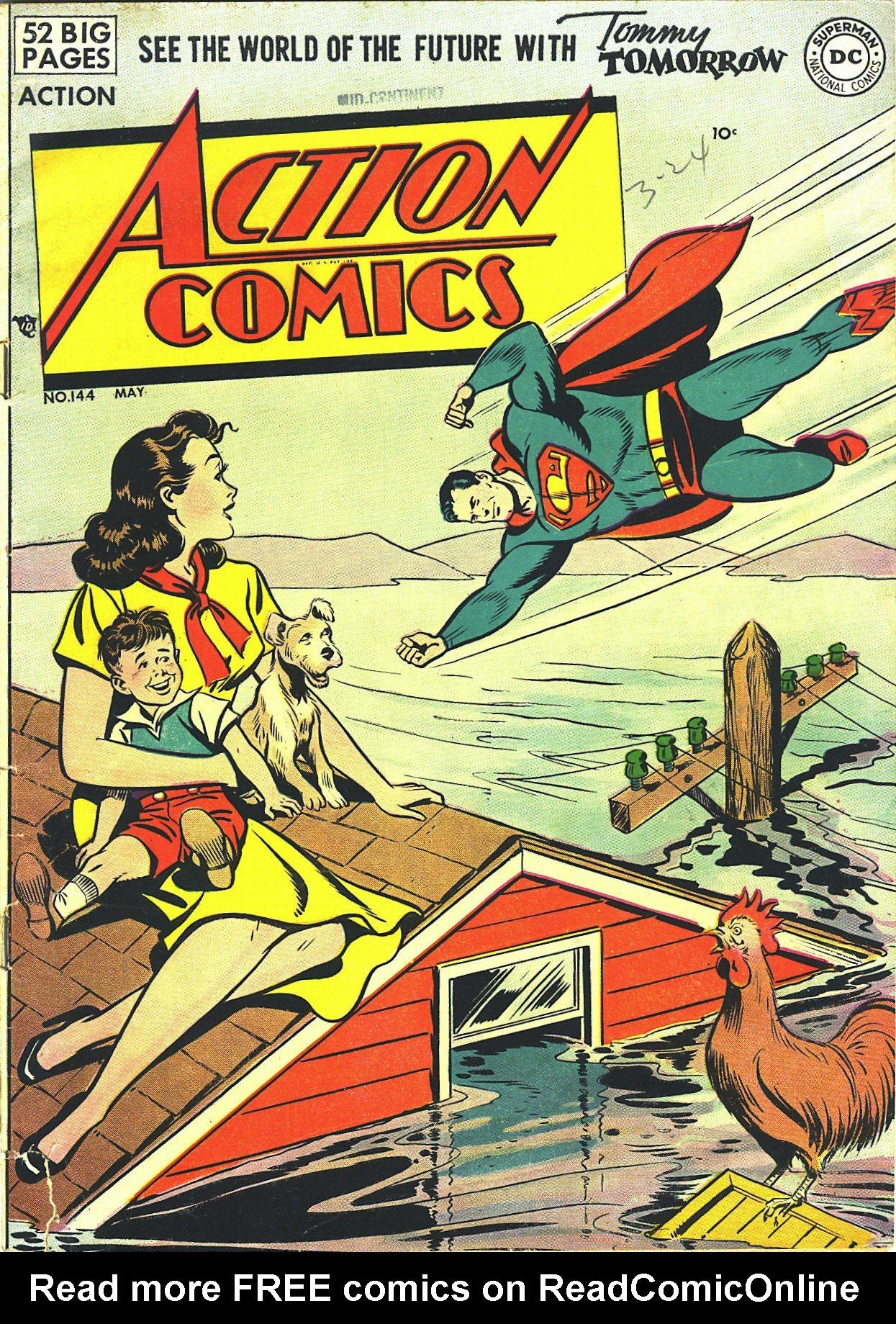 Action Comics (1938) 144 Page 1