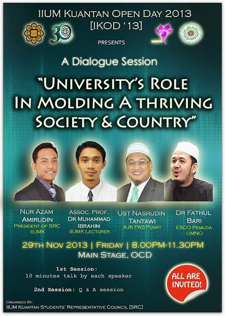 Forum UIA University s Role in Molding a Thriving Society Country ustazfathulbari Tantawi100