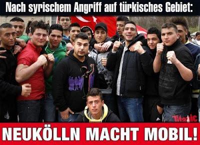 Nach Syrischen Angriffen auf türkisches Gebiet: Neukölln macht mobil!