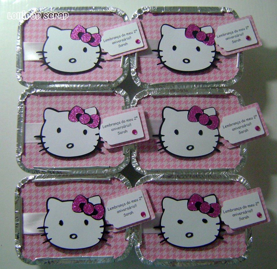 Lollipop Scrap Hello Kitty