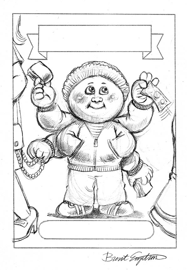 garbage pail kids coloring pages - photo#6