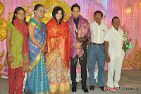 Celebraties at Actor Bharat n Jessy Wedding Reception Photos+%25287%2529 Actor Bharath n Jessy Wedding Photos