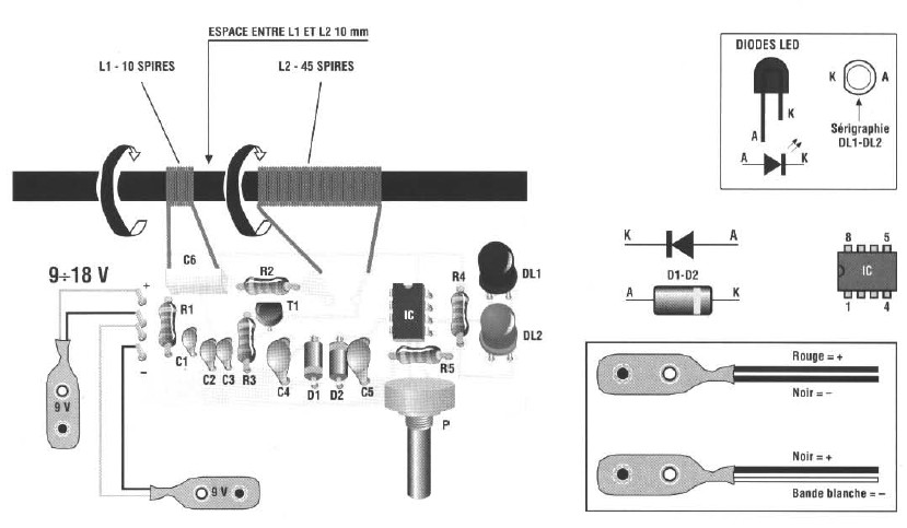 Schema electronique gratuit montage schema detecteur de metaux - Schema electronique detecteur de mouvement ...