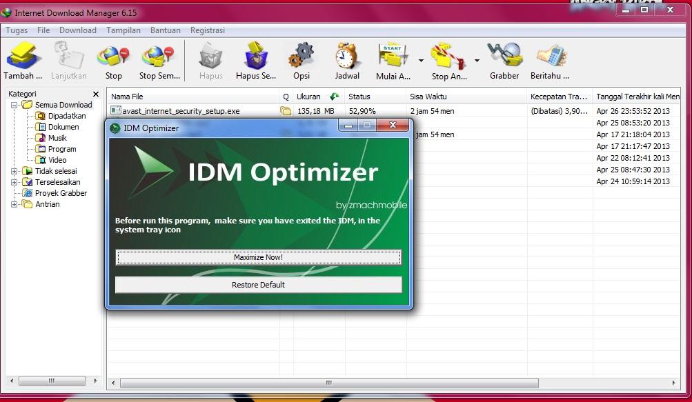 Download IDM Terbaru 630 Build 8 Final Full Version