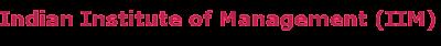 IIM Recruitment 2013-2014 Raipur
