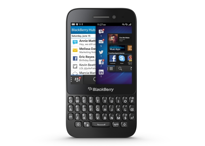 BlackBerry Q5 QWERTY Phone Coming with BlackBerry OS 10.1 ...