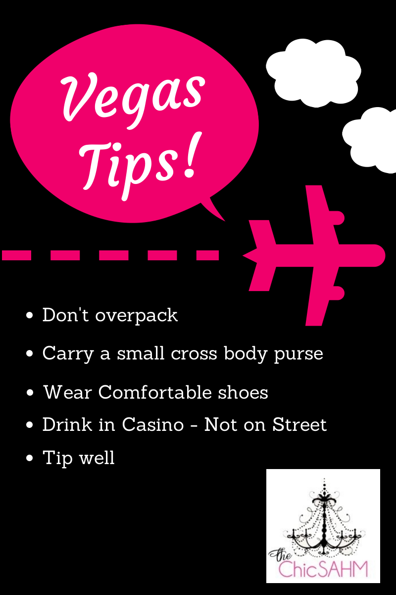 Vegas Tips for first timers