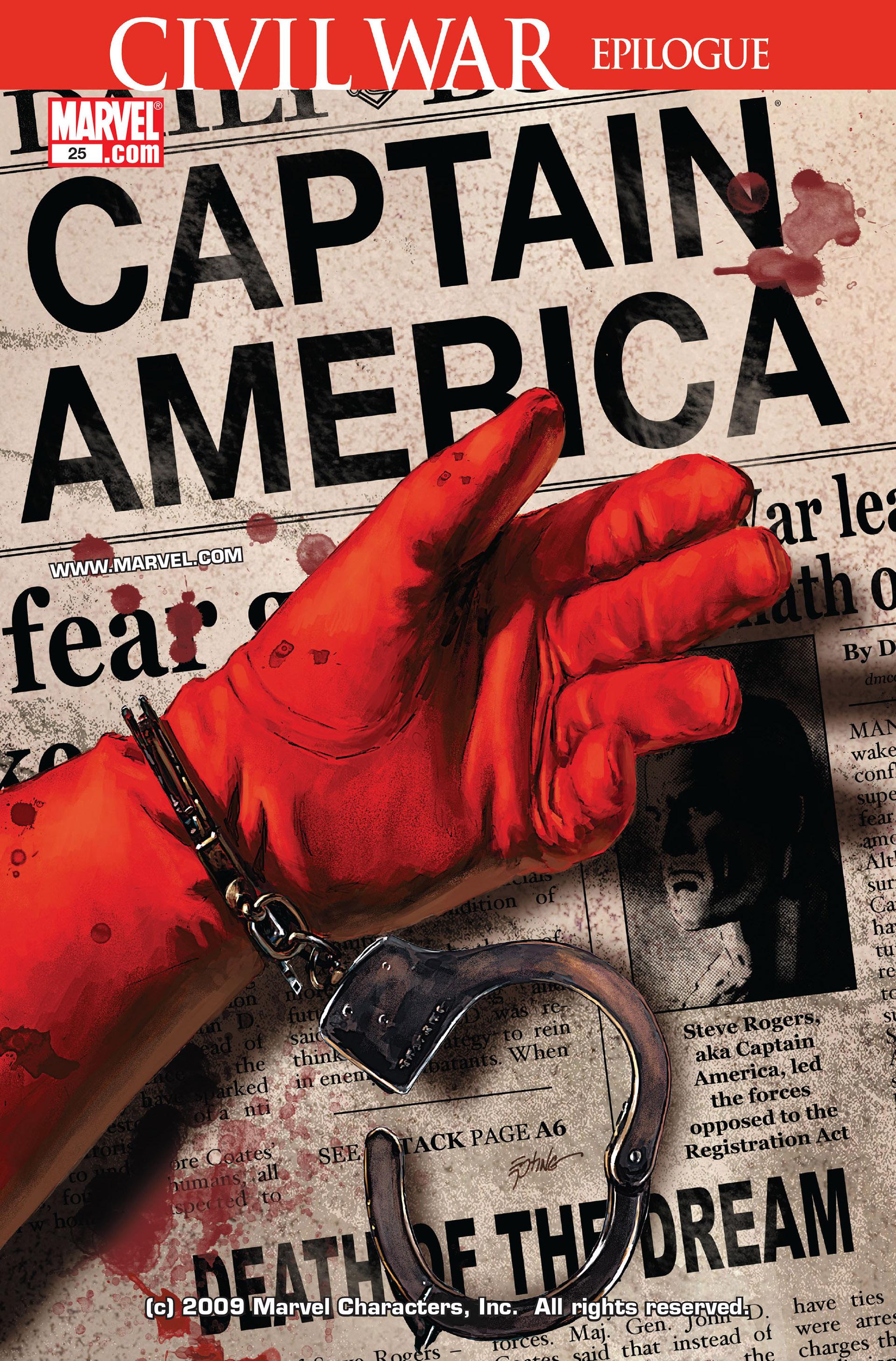 Captain America (2005) Issue #25 #25 - English 1