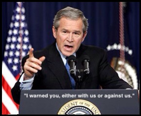 the bush doctrine and just war In this lesson, we're going to examine the bush doctrine, and see how it  at the  center of this war were a series of foreign policy decisions made by the.
