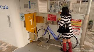 Parkir Sepeda Bawah Tanah di Jepang