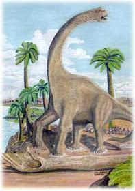 Andesaurusdelgadoi 10 Dinosaurus Dengan Ukuran Paling Besar