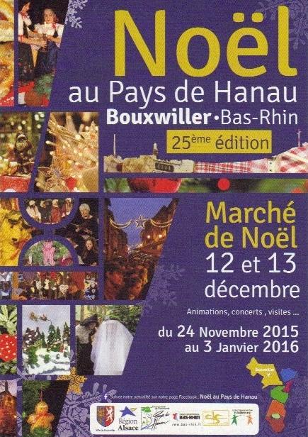 Retrouvez-moi au marché de Noël de Bouxwiller les 12 & 13 Décembre