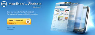 Maxthon Android web browser adds multi-platform syncing