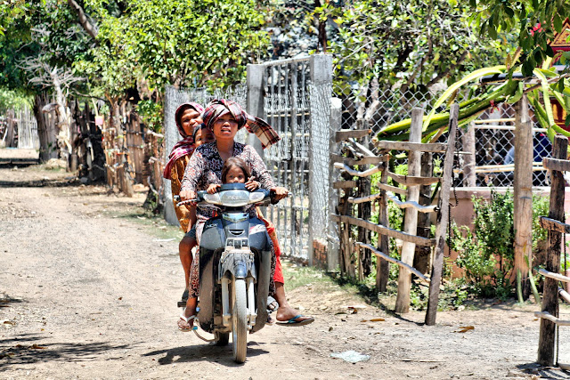 Animaux scènes et paysages  Quelques clichés de la campagne cambodgienne.