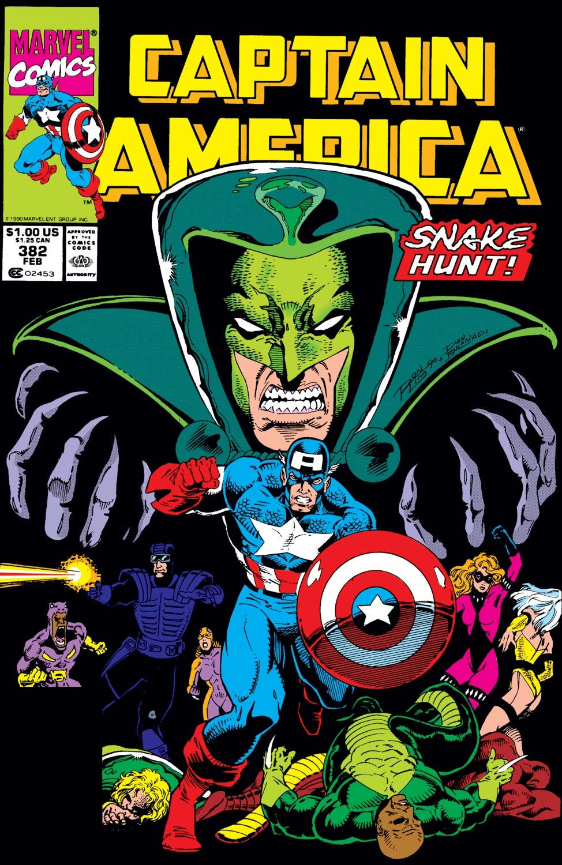 Captain America (1968) Issue #382 #315 - English 1
