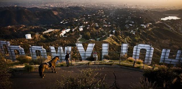 Vista do Griffith Park em Los Angeles