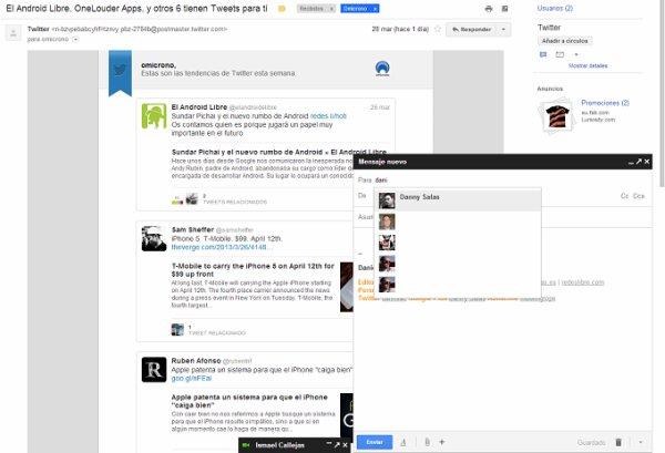 El nuevo Gmail ya disponible para todo el mundo