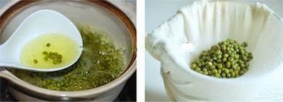 Trà sữa đậu xanh thơm mát
