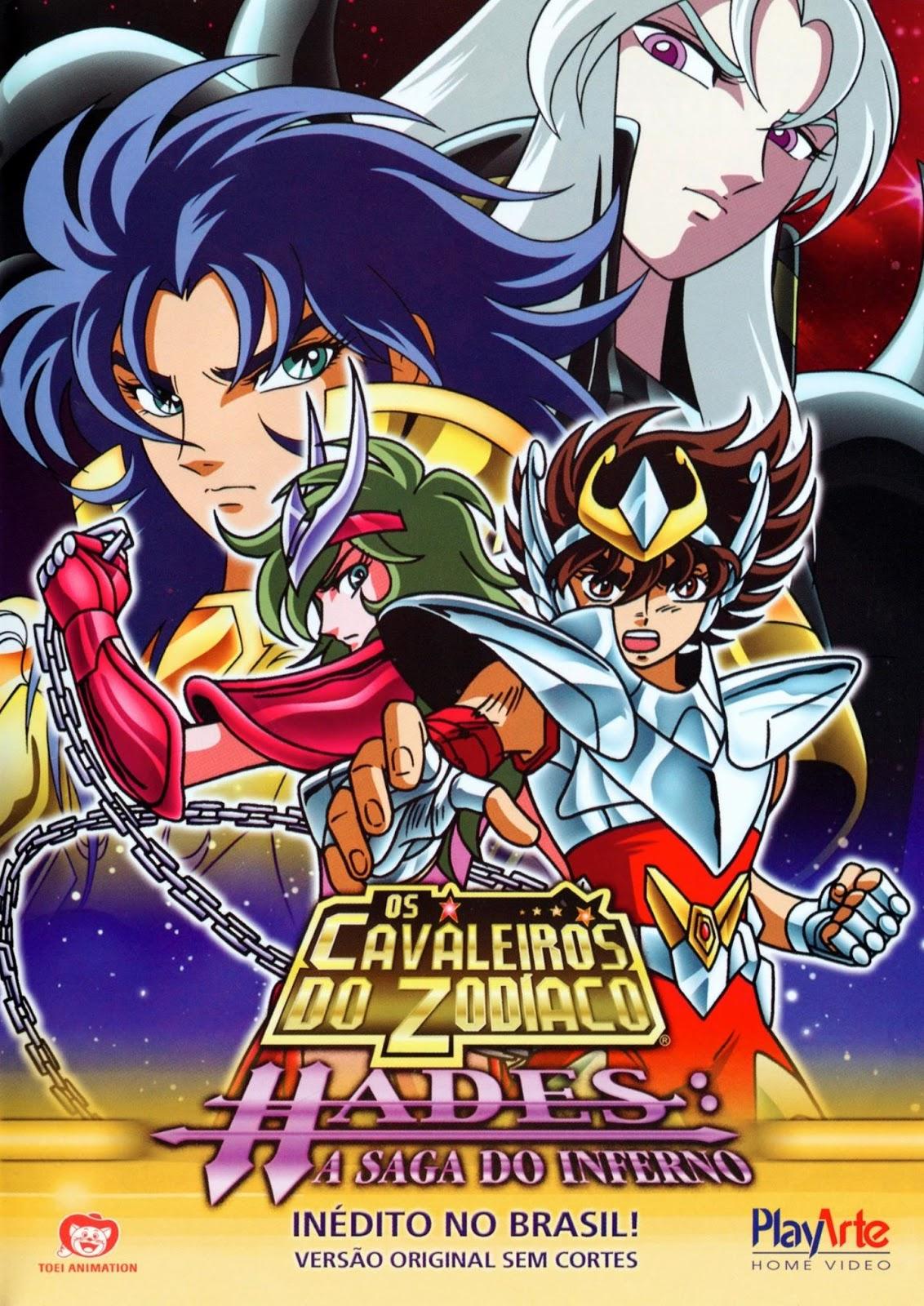 Os Cavaleiros do Zodíaco Hades A Saga do Inferno (2004) Dublado BluRay 1080p Download Torrent