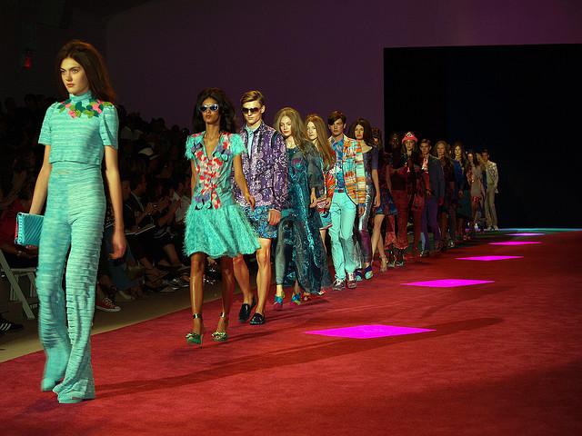 H&M Fashion Ascends The Catwalk