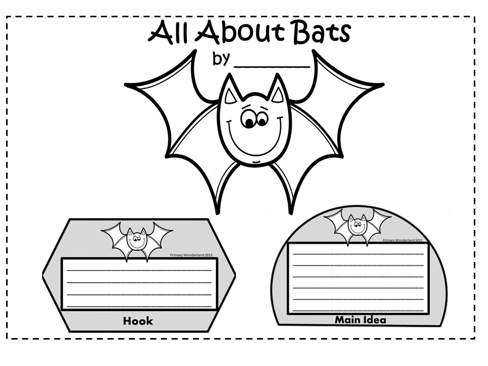 https://www.teacherspayteachers.com/Product/Bat-Writing-Template-1674202