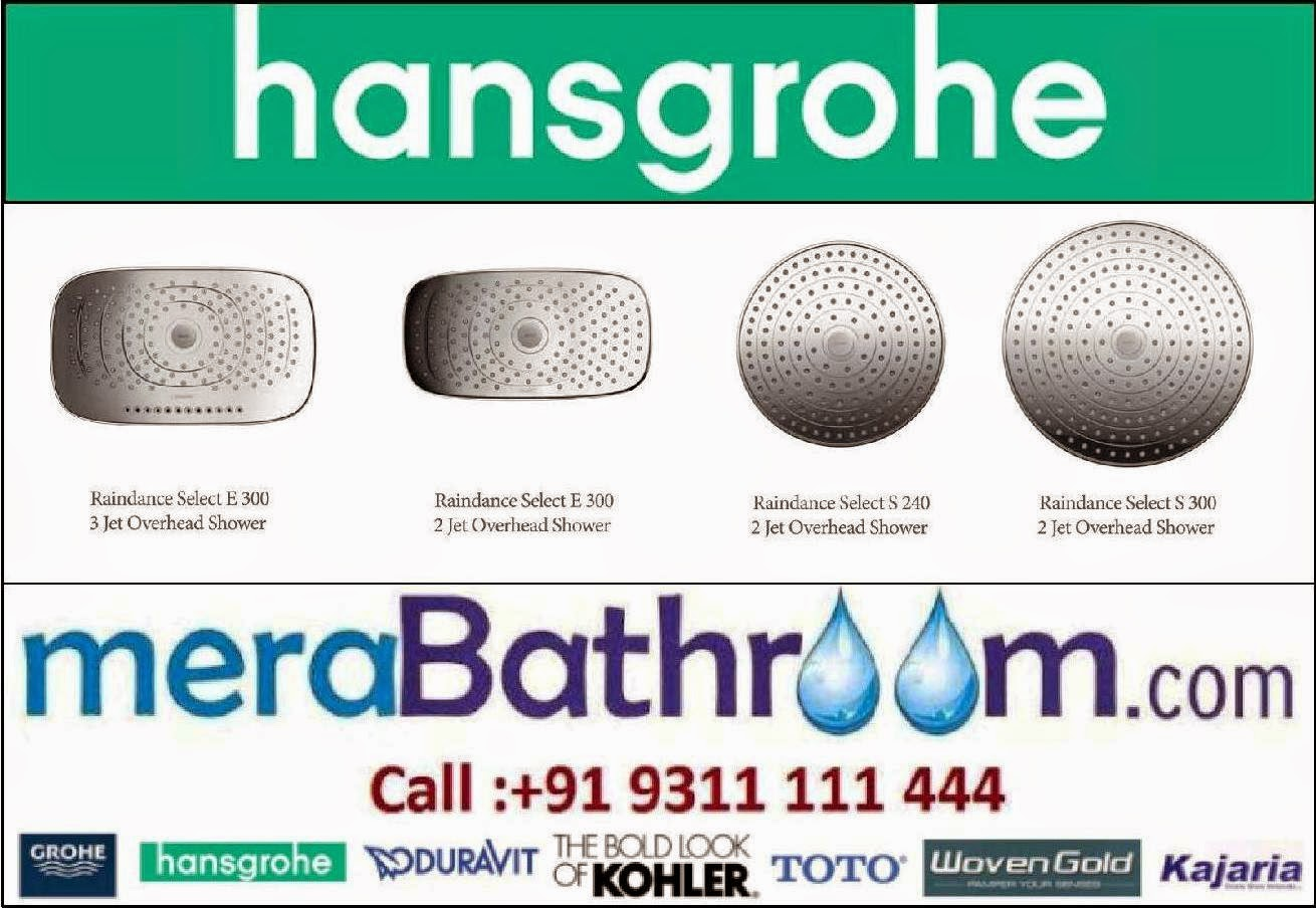 Hansgrohe Showers- Innovations You Can Touch | Hansgrohe Bath ...