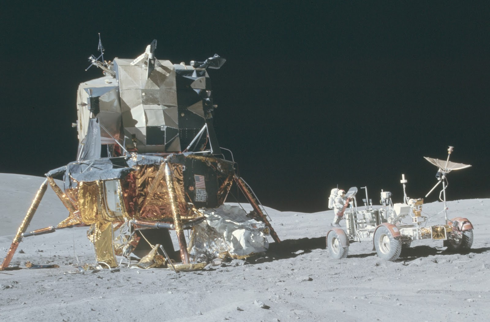 Apollo 16 misson shot