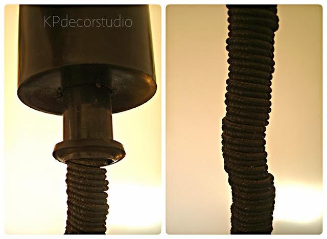 Lámparas de techo antiguas con sistema subebaja