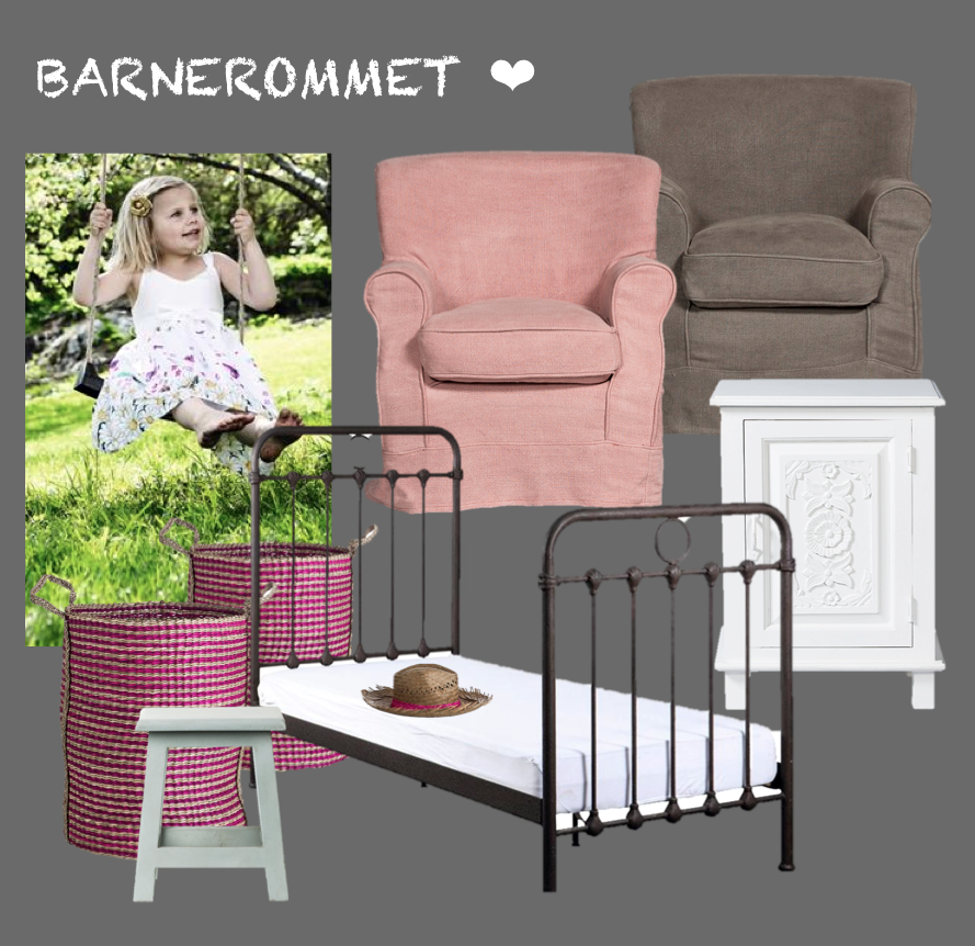 Blogg home and cottage: sjarmerende til barnerommet