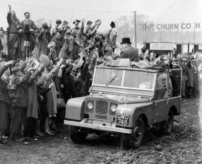 Winston Churchill, Churchill Land Rover, vintage car auction, Winston Churchill&#8217;s Land Rover sells for &#163;129,000 Source : http://hydro-carbons.blogspot.com/2012/10/winston-churchills-land-rover-sells-for.html A Land Rover built for former British Prime Minister Winston Churchill on his 80th birthday has sold for a whopping &#163;129,000 