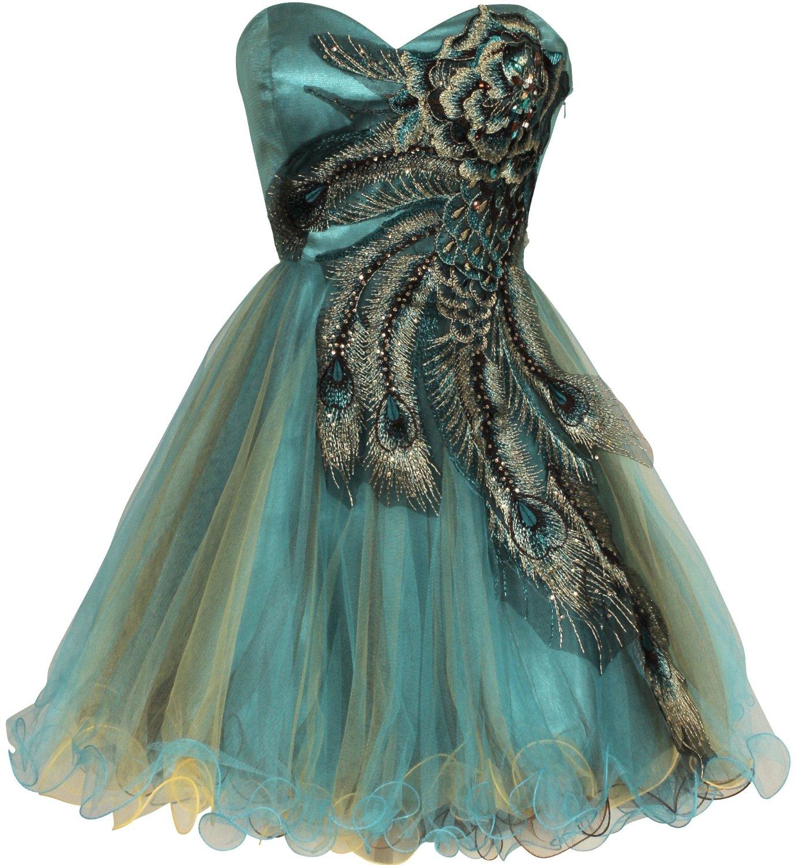 White peacock dress - photo#10