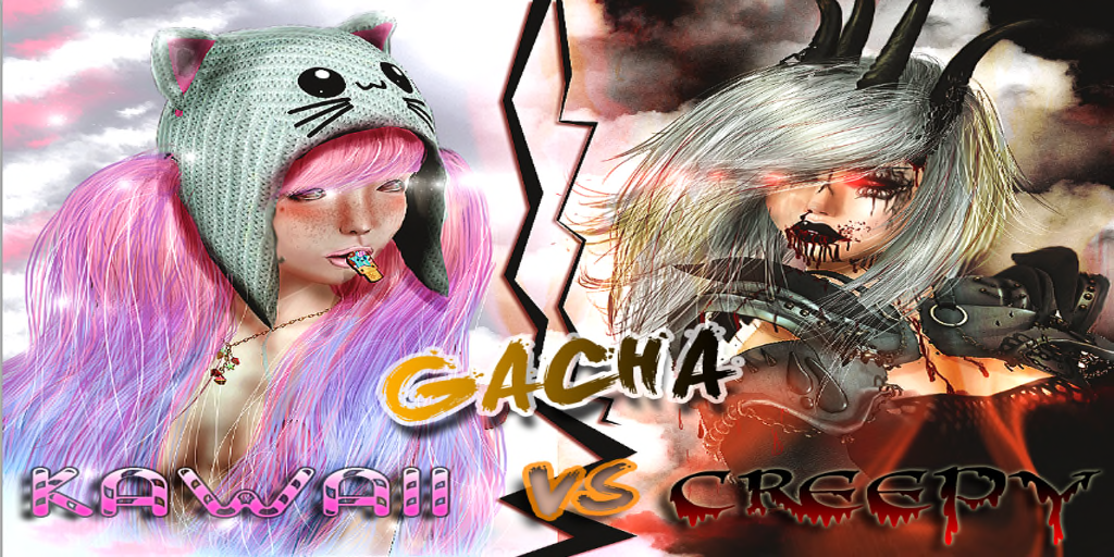 Kawaii vs Creepy Gacha