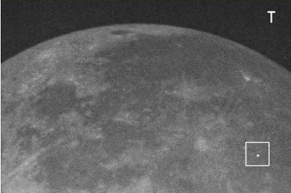 Badai Meteor Camelopardalid Menubruk Bulan