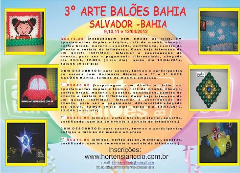 3º ARTE BALÕES BAHIA
