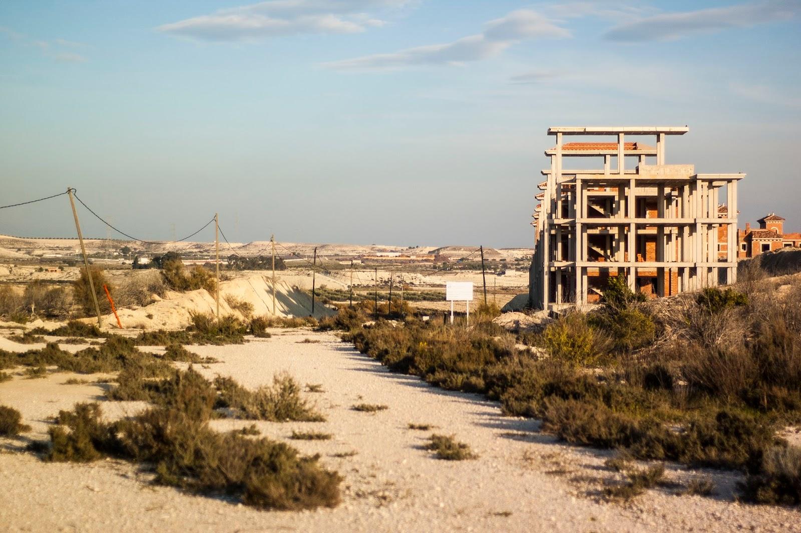 Inmobiliaria sin espacio en España Costa dorada con