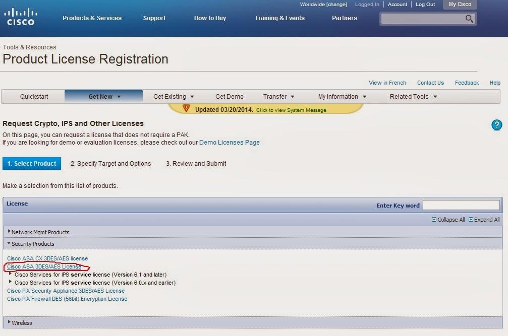 cisco asa license activation key