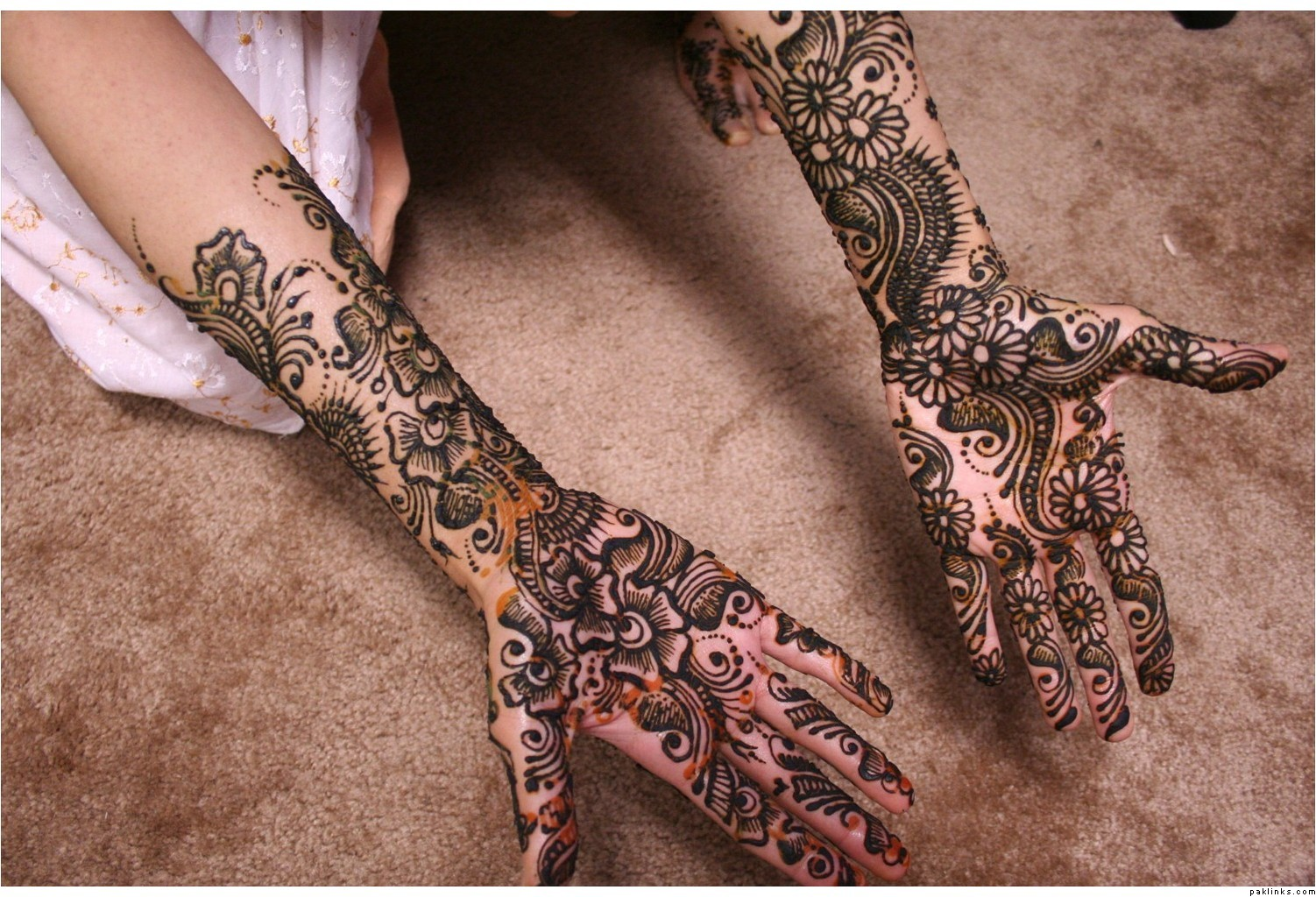 Mehndi Patterns What Are They : Indian mehndi designs for full hands desings
