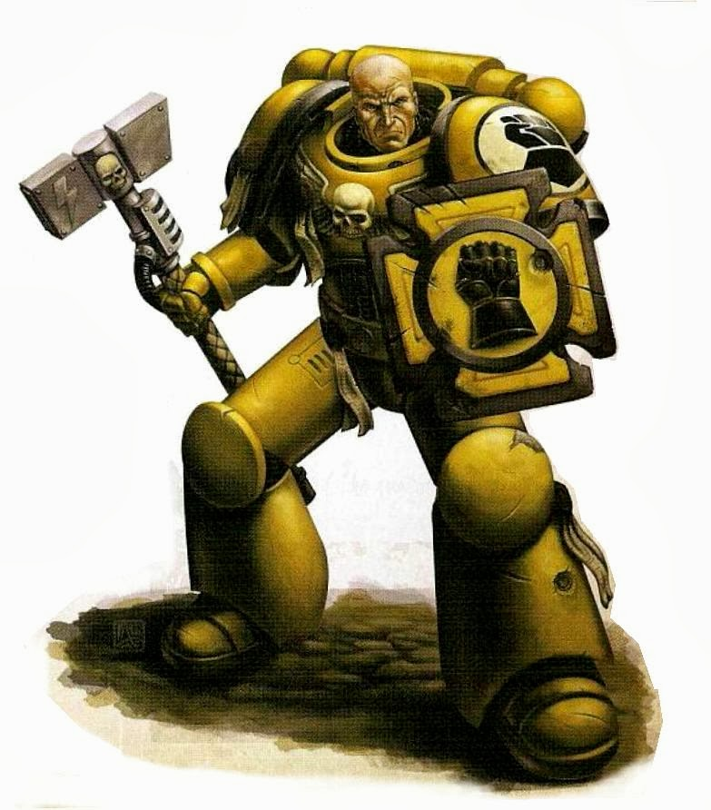 The art of warhammer a closer look at chapter tactics - Imperial fists 40k ...