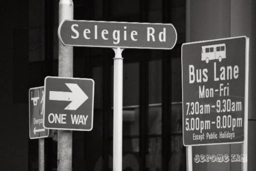 Figure 1: Selegie Roadsigns