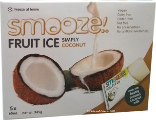 Smooze coconut flavour ice lolly