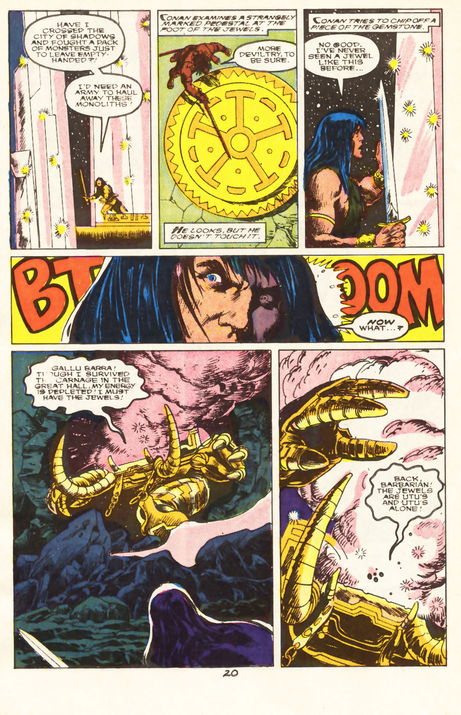 Conan the Barbarian (1970) Issue #217 #229 - English 17