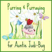 Lots of Purrs & Prayers for Auntie Judi-Bug