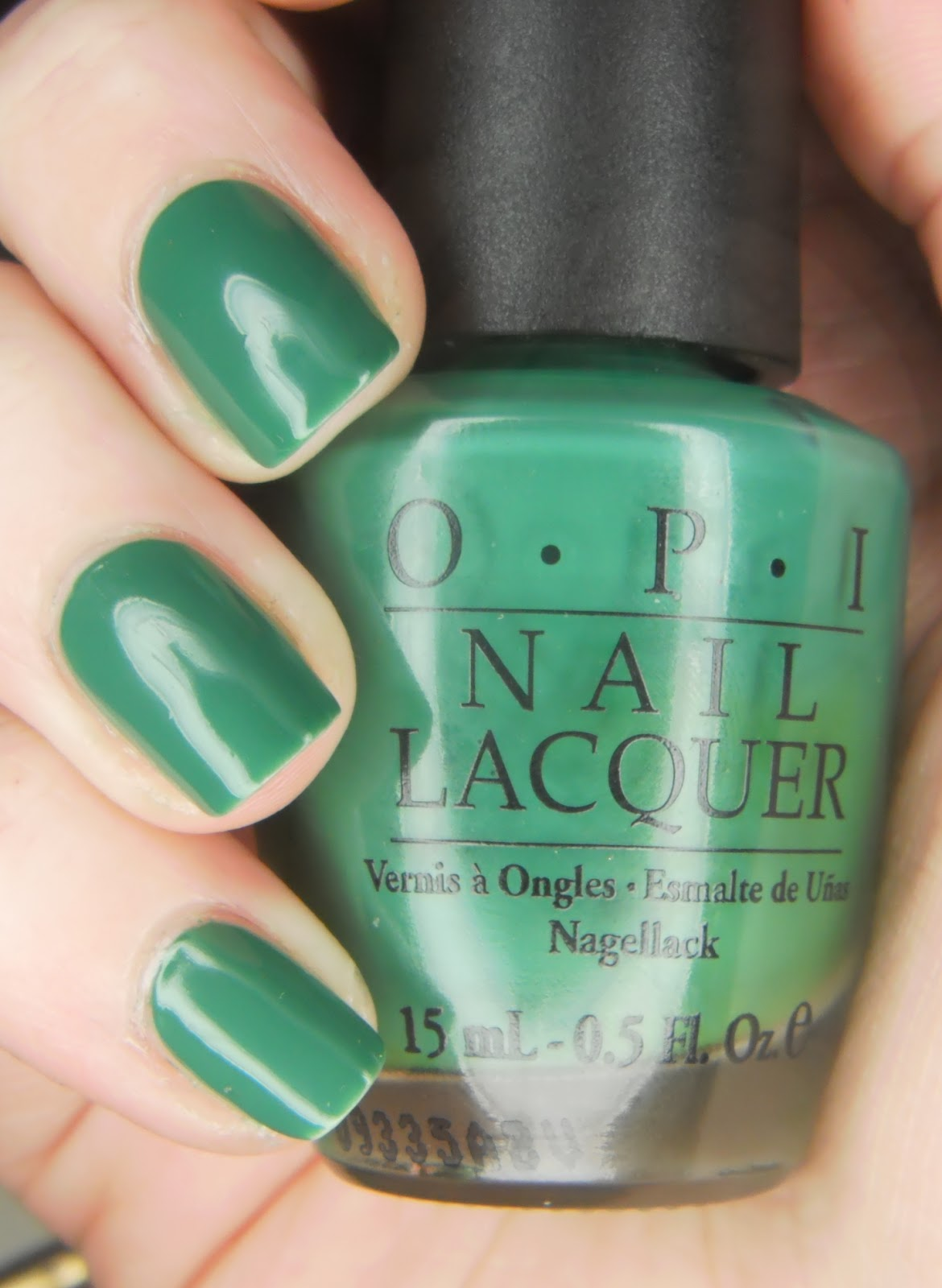 I Ran Out Of Green Glitters To Share So Today Have Used Opi Jade Is The New Black Which A Beautiful Deep Colour And Perfect In 2 Coats