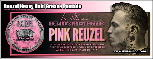 Pink Reuzel Grease DE Pomade Shop
