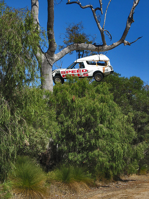 Speed Kills Art Car in Western Australia