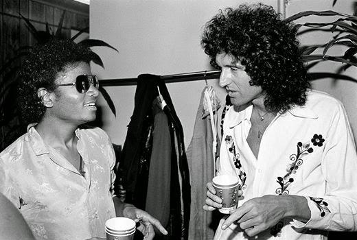 Queen y Michael Jackson