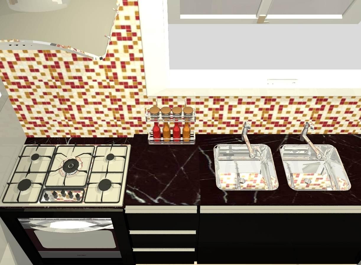 #8C342E  apartamento decorado..living cozinha banheiro salão de festas 1222x896 px Banheiros Decorados Para Jovens 973